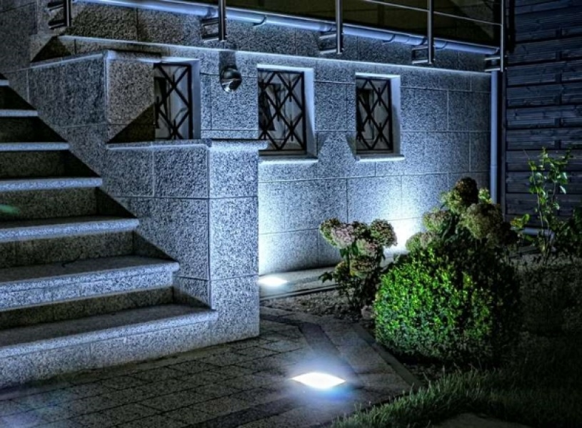 Oświetlenie kostki brukowej